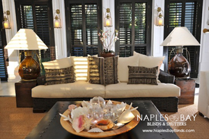 Naples Best Dressed Fine Furniture:  Plantation Shutters